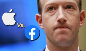 Apple vs Facebook Transparencia de Rastreamento de Aplicativo